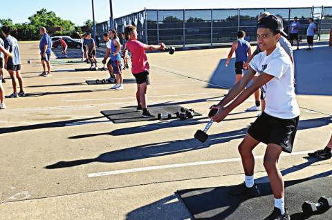 Athletic camps scheduled for summer months