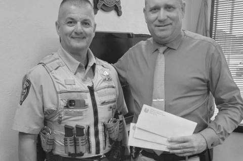 Sheriff's Office accepts donation