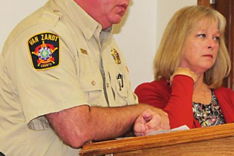 Commissioners discuss two vehicles