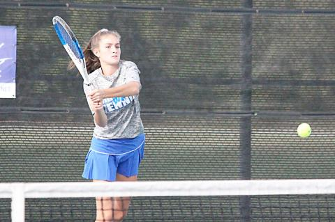 TENNIS ACES DISTRICT TESTS