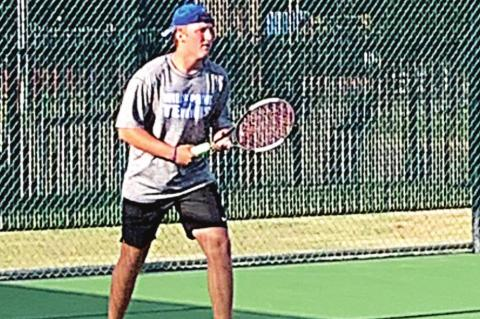 Tiger tennis off to red-hot start