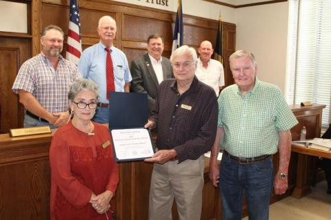 Historical Commission receives state recognition
