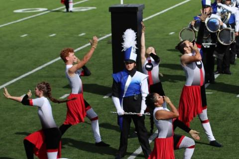 Tiger Band begins marching contest season