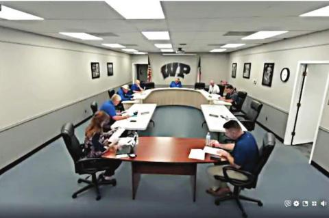 The Wills Point ISD Board of Trustees found a workaround to keep their meeting accessible to the public April 6, broadcasting the entirety of their meeting over Facebook. The meeting generated more attention than virtually any other WPISD board meeting in