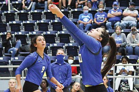 Lady Tigers lose ground in district chase