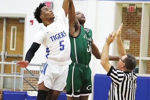 Tigers reach midway point of district