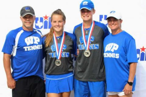 Tiger duo claims silver at State Tourname