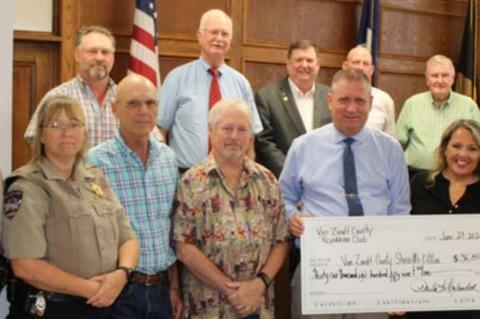 Donation approved by Commissioners