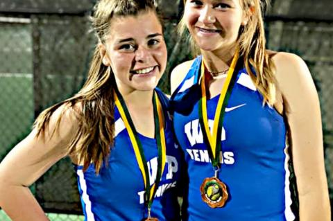 Netters place third at Longview