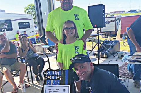WPPD hosts Back the Blue at park