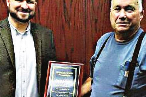 Adams recognized by Appraisal District