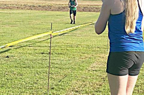 Cross country competes at Kaufman event