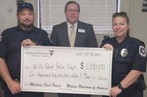 WPPD RECEIVES GRANT