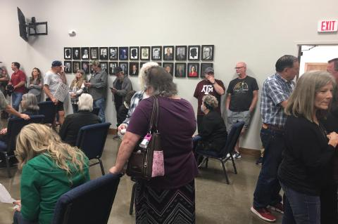 Citizens pack Canton City Hall to protest event